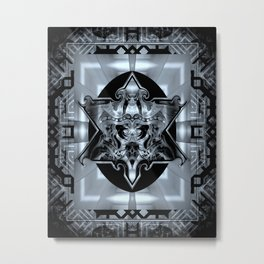 Pollutted Metal Print