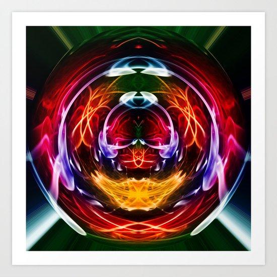 Crystal Ball 1 Art Print