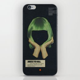 Dress To Kill iPhone Skin