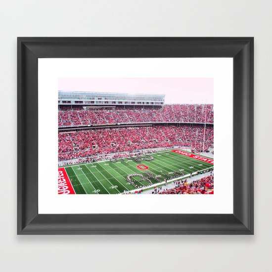 GO BUCKS!  Framed Art Print