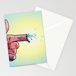 Pew Pew Stationery Cards