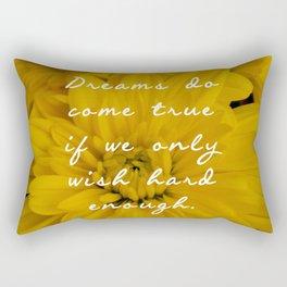 Dreams do come true Peter Pan Rectangular Pillow