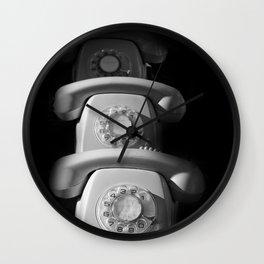 phone Wall Clock