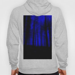 fantasy forest at night Hoody