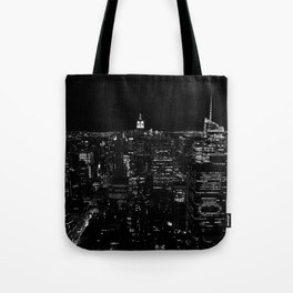 New York by Night Tote Bag