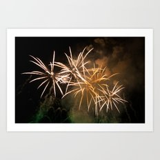Explosions In The Sky 221 Art Print