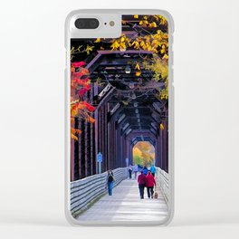 Heading South Clear iPhone Case