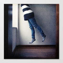 Absorbed Canvas Print