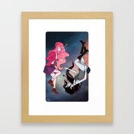 Stardust in your eyes Framed Art Print