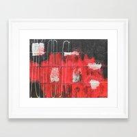 future Framed Art Prints featuring future  by sladja