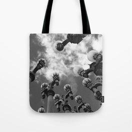 Lamp Posts Tote Bag