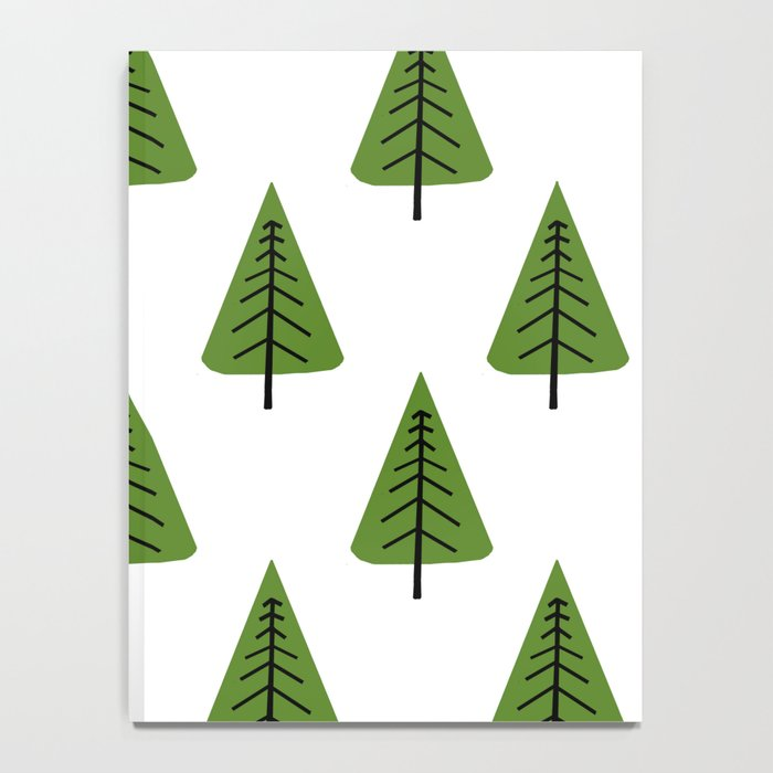 Forest Pattern Notebook