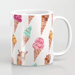 Ice Cream Cones – Rainbow Palette Coffee Mug