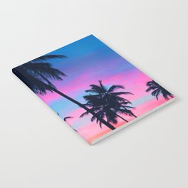 Colorful palm Notebook