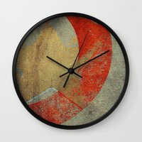 captain swan Wall Clocks featuring Captain by Fernando Vieira