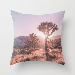 Southwest California Throw Pillow