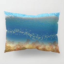 Abstract Seascape 01 w Pillow Sham