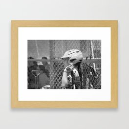 On Deck Framed Art Print