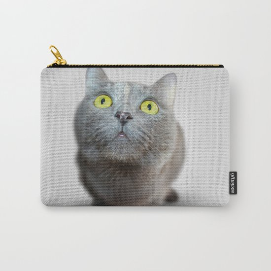 The Cat's Stare Carry-All Pouch