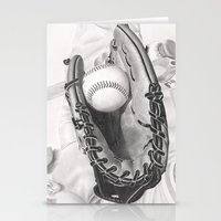 baseball Stationery Cards featuring Baseball by aurelia-art