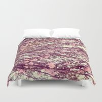 sofa Duvet Covers featuring floral sofa by vibeyantlers