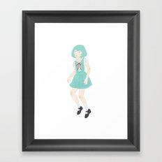 Rei I Framed Art Print
