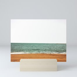 down by the sea - seaside - artprint Mini Art Print