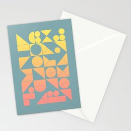 Modern Geometric 06 Stationery Cards