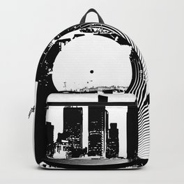 Urban Vinyl of Underground Music Backpack