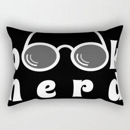 Book Nerd Rectangular Pillow