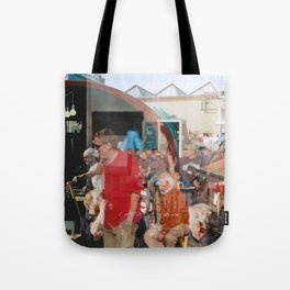 Smith - overlapper Tote Bag