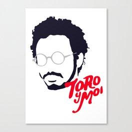 Toro Y Moi - Minimalistic Print Canvas Print