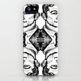 Joseph Gordon-Levitt collage iPhone Case
