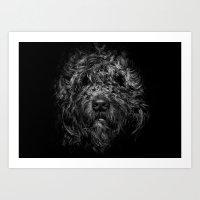 Ziggy Portrait No 1 Art Print