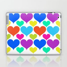 Bright hearts Laptop & iPad Skin