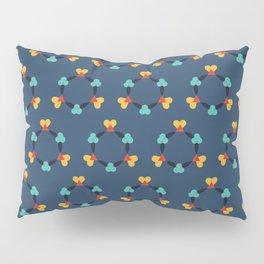 Kaleidescope blue Pillow Sham