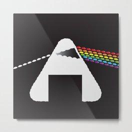 Onigiri Pink Floyd Metal Print