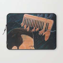 To comb social reactions Laptop Sleeve