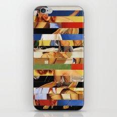 Glitch Pin-Up Redux: Jessica iPhone & iPod Skin