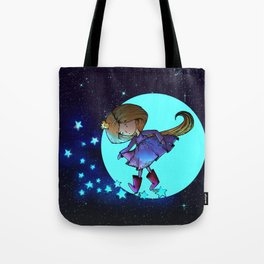 Walking in The Stars Tote Bag