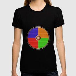 Round Viking Shield T-shirt