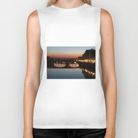 florence Biker Tanks featuring Florence  by AntWoman