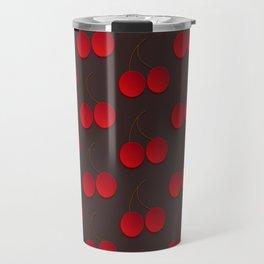 Red cherry Travel Mug