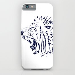 Roaring Lion King iPhone Case