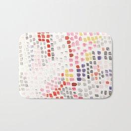 Abstract strokes Bath Mat