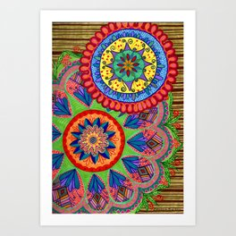 Mandalas 1 Art Print