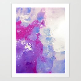 Agate Slice Art Print