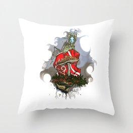 Recycled fairytale Throw Pillow