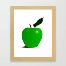 Nice Green Apple Framed Art Print