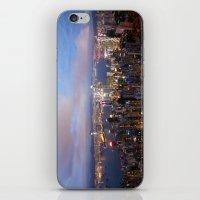 hong kong iPhone & iPod Skins featuring Hong Kong by iamkin